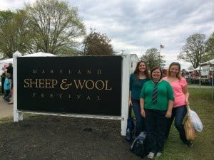 A 4-H girl took our picture. In the back, left to right, are Stacy and Beth.  I look ridiculously formal because I