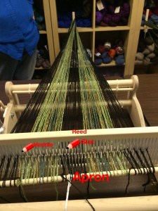 "Direct Warping 15"" Cricket Loom"