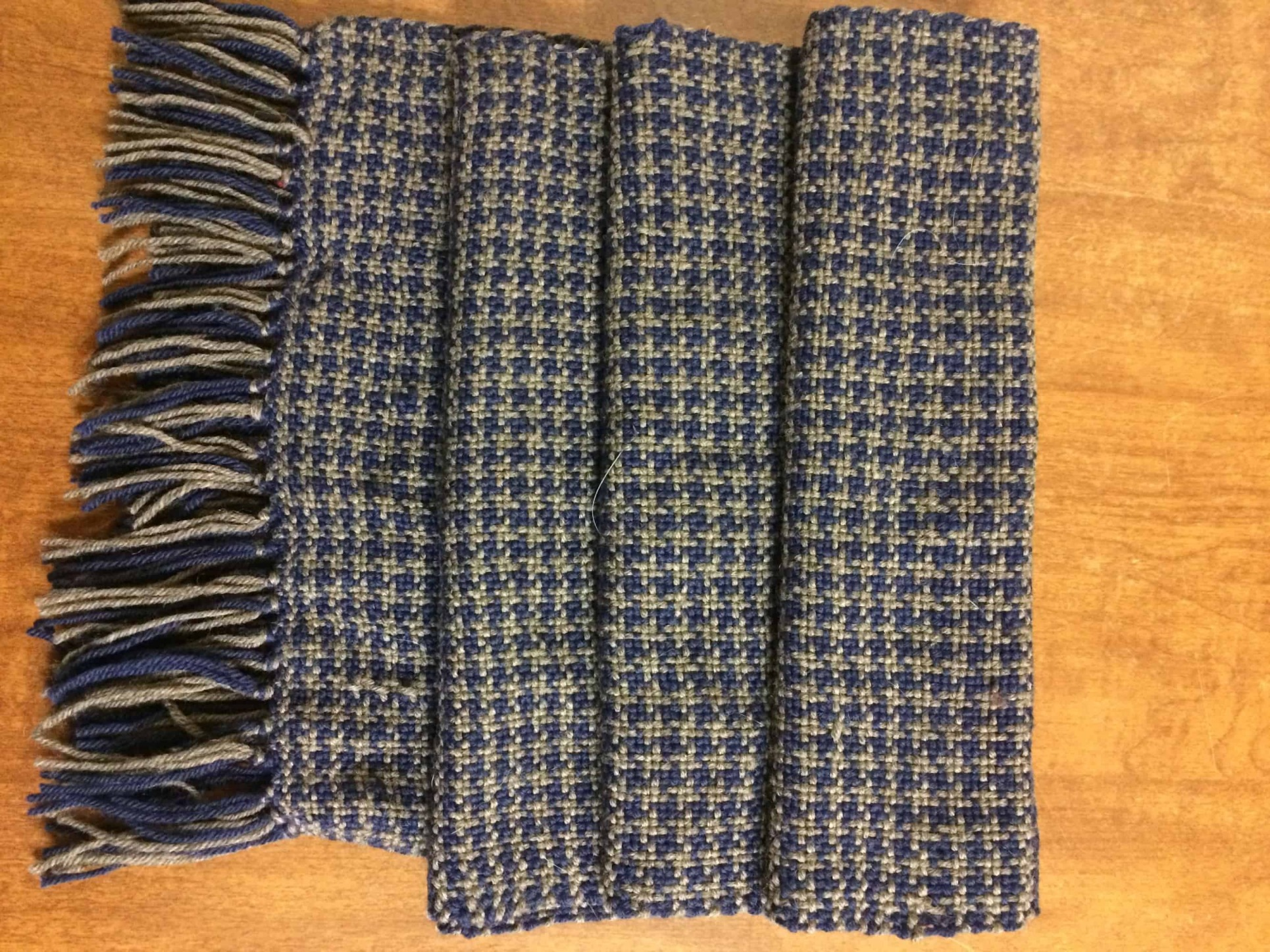 Ravenclaw Houndstooth Scarf